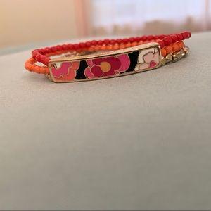 Vera Bradly Stack Bracelet
